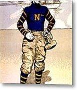Vintage Poster - Naval Academy Midshipman Metal Print