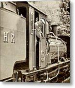 Vintage Railway Metal Print