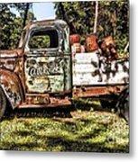 Vintage Rusty Old Truck 1940 Metal Print