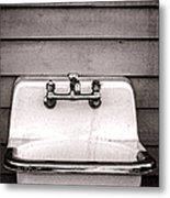 Vintage Sink Metal Print by Olivier Le Queinec