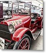Vintage Studebaker Fire Engine Metal Print