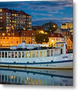 Vintage Swedish Ferry Metal Print by Inge Johnsson