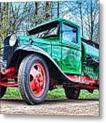 Vintage Tanker 1 Metal Print