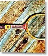 Vintage Tennis Metal Print by Benjamin Yeager