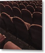 Vintage Theater Metal Print