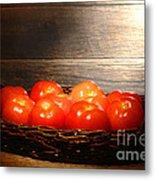 Vintage Tomatoes Metal Print
