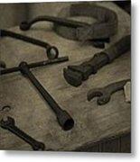 Vintage Tools Metal Print