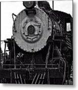 Vintage Train 90 Metal Print