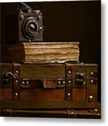 Vintage Travel Metal Print