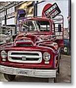 Vintage Truck Metal Print