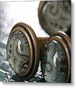 Vintage Turquoise 3 Metal Print