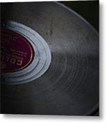 Vintage Vinyl Metal Print
