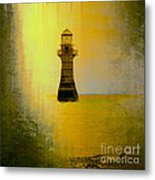 Vintage Whiteford Lighthouse Metal Print