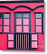 Vintage Windows Metal Print by William Voon
