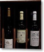 Vintage Wine - 5d20804 Metal Print