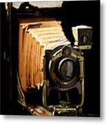 Vintaged Canadian Kodak Camera Metal Print