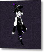 Violet Rumors Metal Print