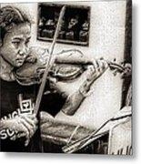 Violin Ensemble Metal Print