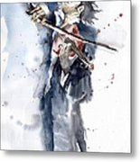 Violine Player 1 Metal Print by Yuriy  Shevchuk