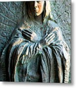 Virgin Mary Relief Metal Print