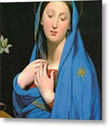 Virgin Of The Adoption Metal Print