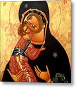 Virgin Of Vladimir Metal Print