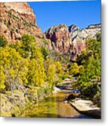 Virgin River - Zion Metal Print