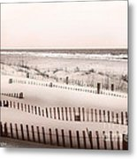 Virgina Beach Vacation Memories Metal Print by Artist and Photographer Laura Wrede