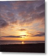 Virginia Beach Sunrise Metal Print