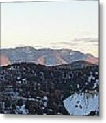 Virginia City View  Metal Print