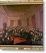 Virginia Convention 1829 Metal Print