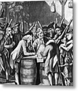 Virginia Loyalists, 1774 Metal Print