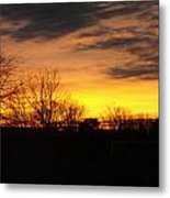 Virginia Sunset Metal Print