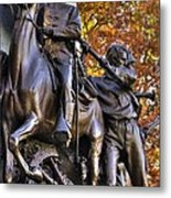 Virginia To Her Sons At Gettysburg - War Fighters - Band Of Brothers 1b Metal Print