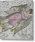 Virgo From A Celestial Atlas Metal Print