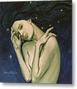 Virgo  From Zodiac Series Metal Print