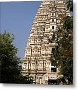 Virupaksha Temple In Hampi Metal Print