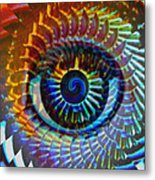 Visionary Metal Print by Gwyn Newcombe