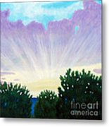 Visionary Sky Metal Print by Brian  Commerford