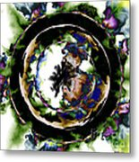 Visions Echo In The Crystal Ball Metal Print