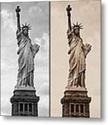Visions Of Liberty Metal Print