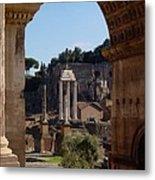 Visions Of Rome Metal Print