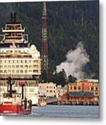 visit Alaska Metal Print