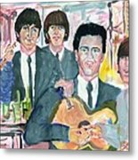 Visiting Elvis 1965 Metal Print