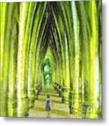 Visiting Emerald City Metal Print