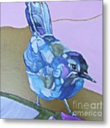 Visiting Wren Metal Print