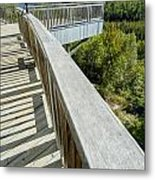 Visitor's Center Lookout Metal Print