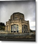 Vista House At Crown Point - Oregon Metal Print