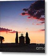 Vitaleta Chapel - Tuscany - Italy Metal Print