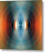 Vitality - Energy Abstract Art By Sharon Cummings Metal Print